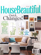 June issue of House beautiful - Quick changes!