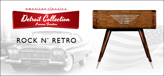 Jonathan Charles Travels To The 1950u0027s For Their Detroit Collection,  Introduced At Spring High Point Market.