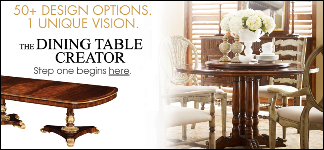 Jonathan Charles Fine Furniture The Dining Table Creator