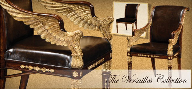 Attirant Jonathan Charles Fine Furniture   Château Chic Introducing The Versailles  Collection
