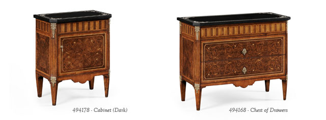 Beau Jonathan Charles Fine Furniture Goes Italian Style With New Period Chests.