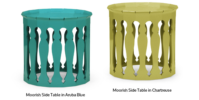 Moorish Side Tables