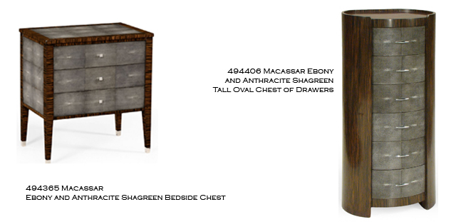 Add Panache To Your Interiors With These Art Deco Inspired Shagreen Chest  Of Drawers From The Metropolitan Collection.