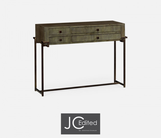 Chestnut Rectangular Console Table