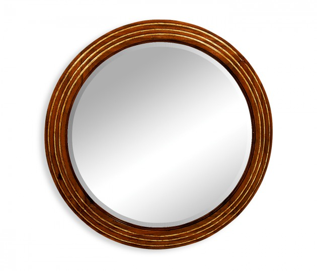 Large Round �glomis� Mirror