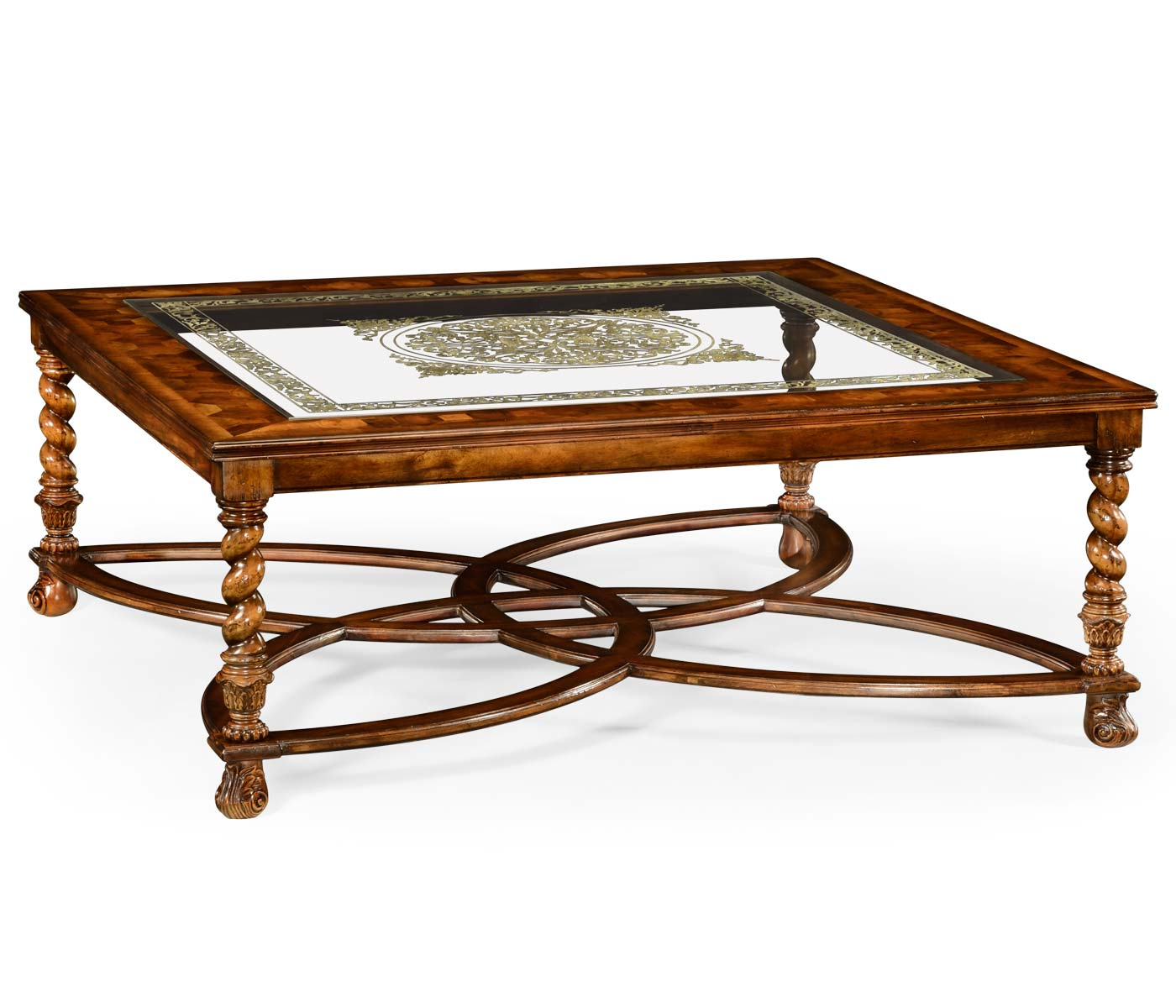 Square Oyster Glomis Coffee Table 52