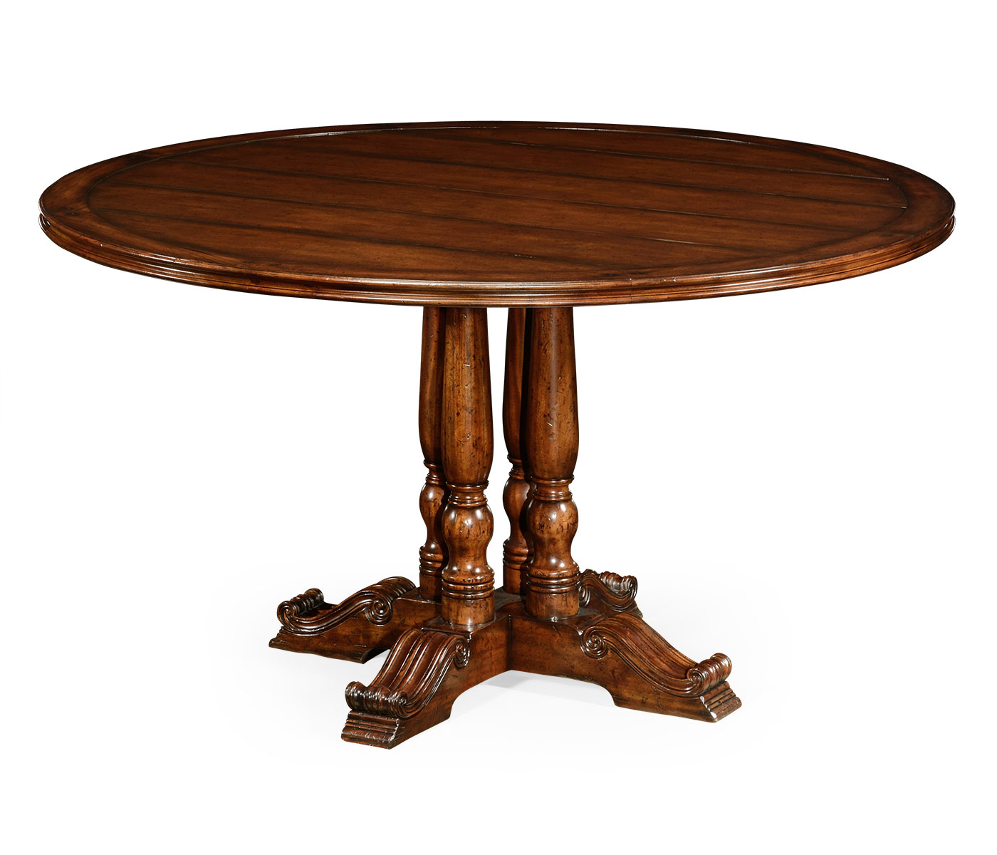 54quot french round country dining table for French round dining table