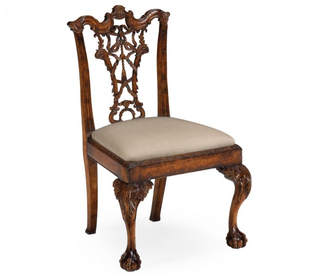Chippendale ribbon back side chair (Mahogany)