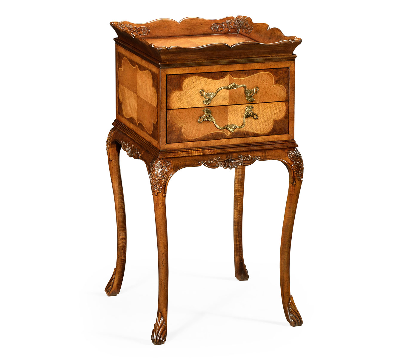 Tray lamp table walnut and satinwood aloadofball Images