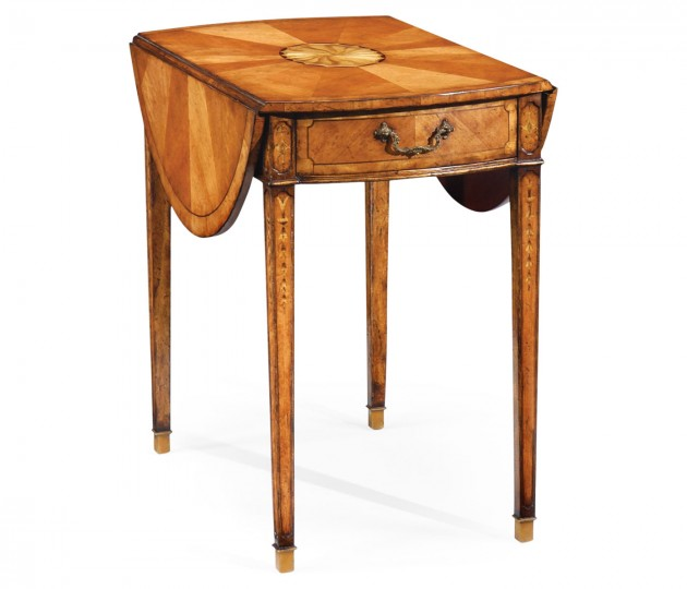 Satinwood Pembroke Table (Large)