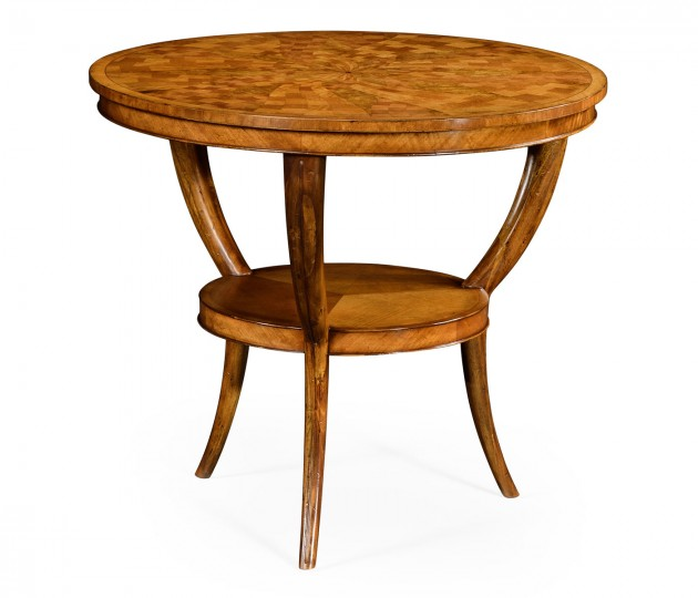 Two-Tier Marquetry Centre Table