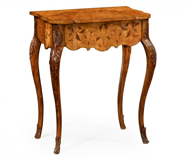 Small Marquetry Side Table