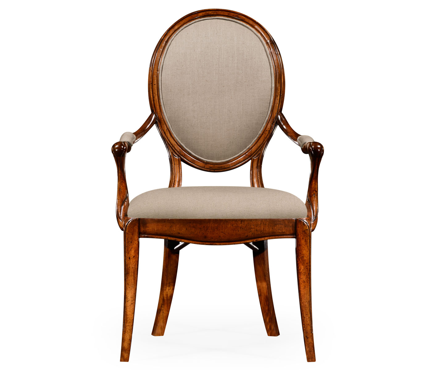 upholstered dining room chairs with arms.  Spoon Back Upholstered Dining Chair Arm