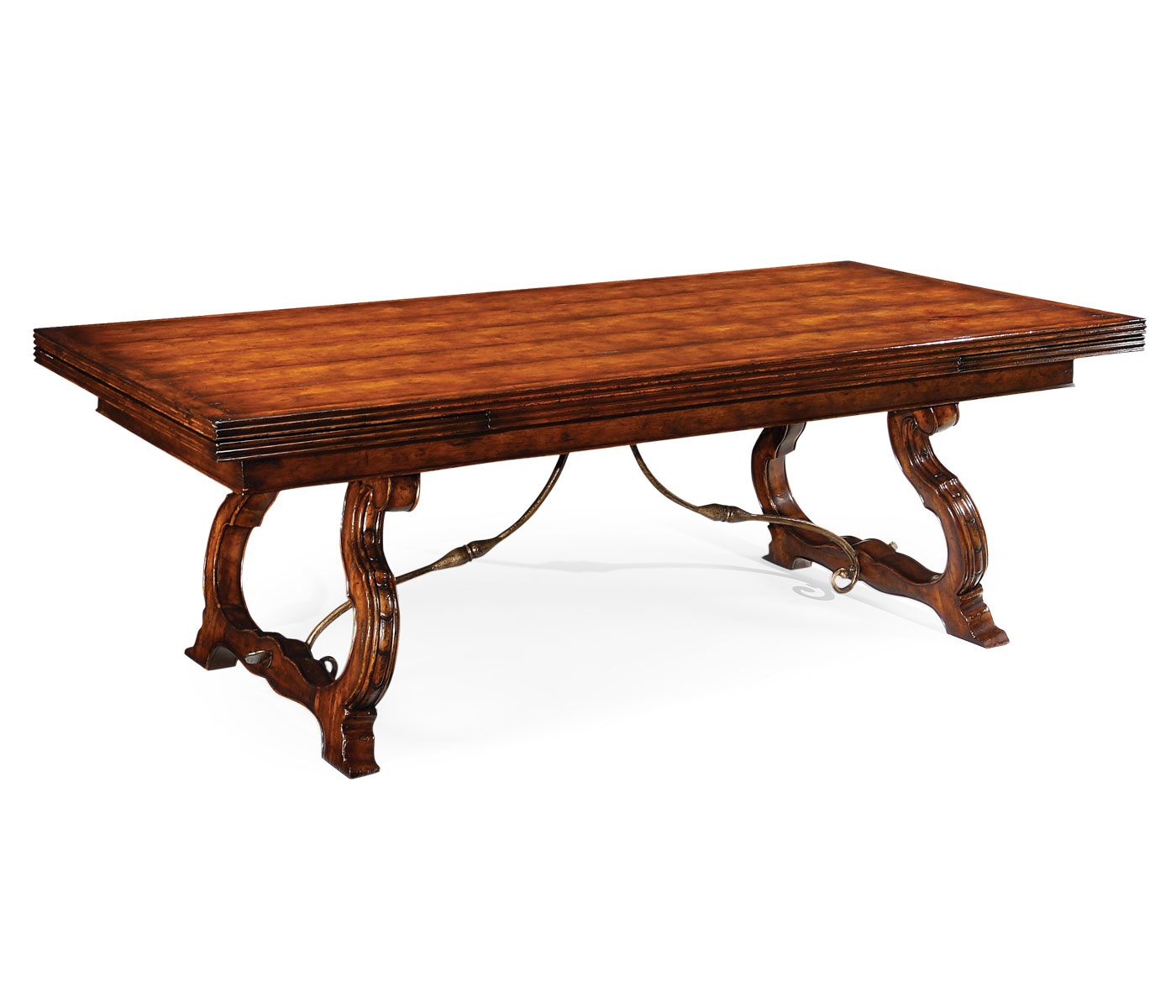 Spanish draw leaf dining table for Table in spanish