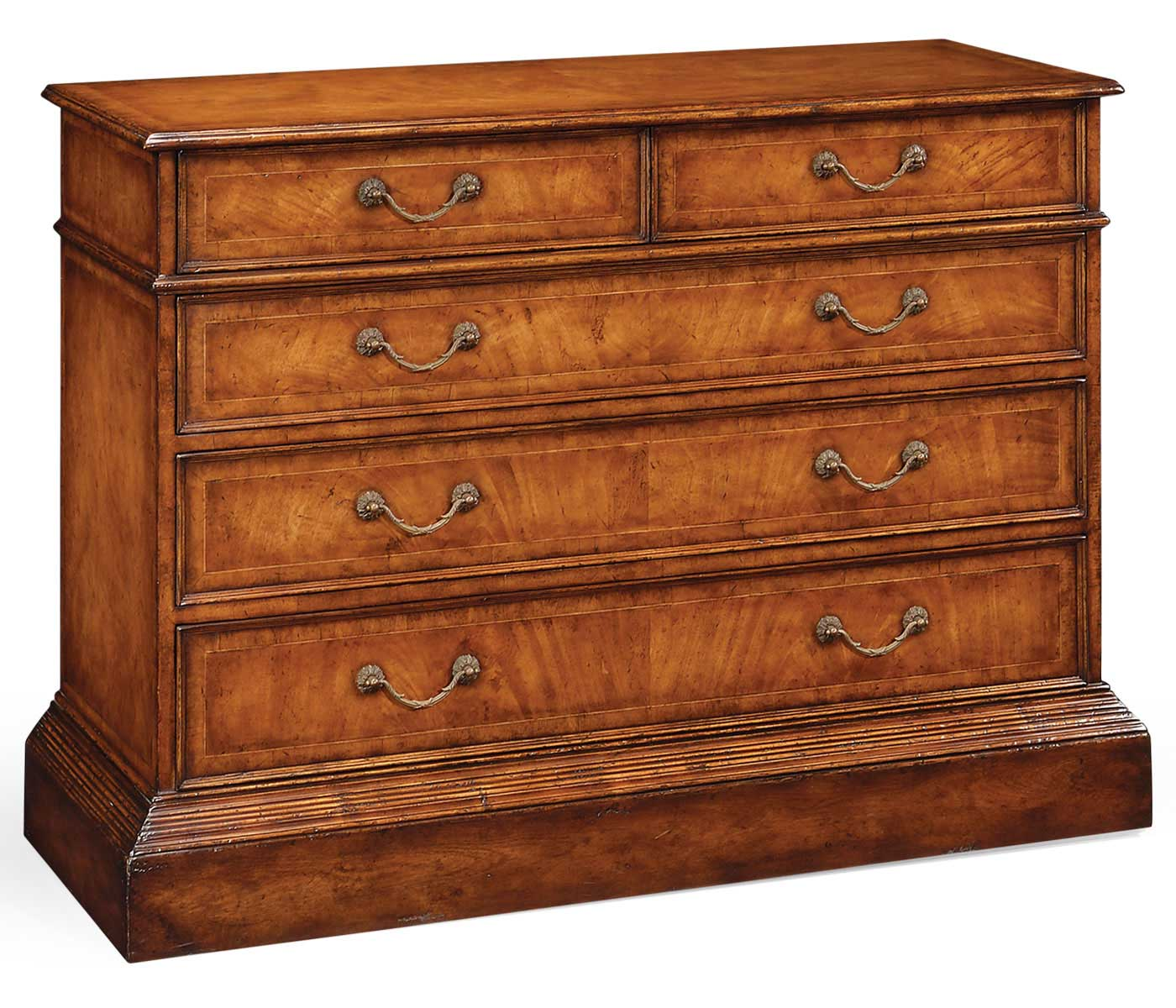 walnut office chest of drawers with hanging file storage