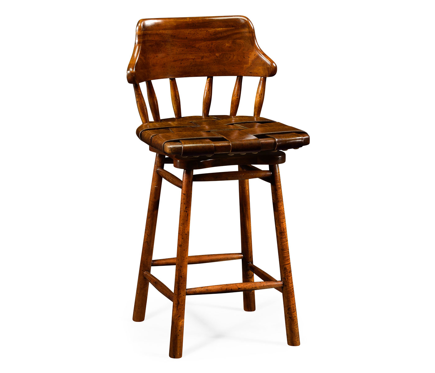 Country Style Leather Bar Amp Counter Stools