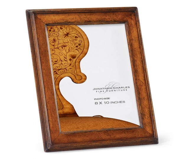 """8""""x10"""" Country Walnut Picture Frame"""