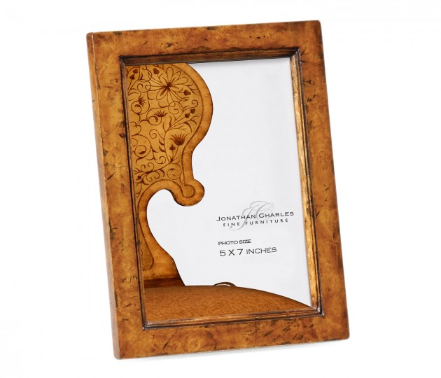 5 x7 burr walnut picture frame for Sideboard x7
