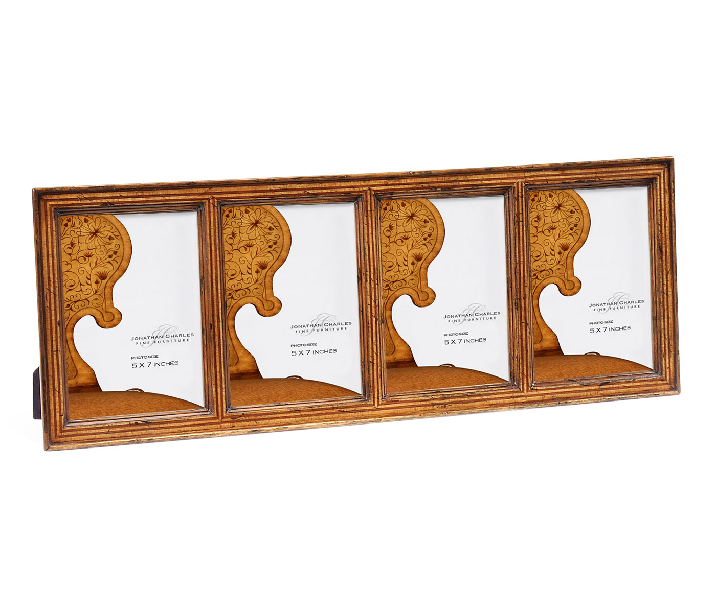 Satinwood ribbed picture frame 5 x7 for Sideboard x7