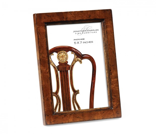 "5""x7"" Crotch Walnut Picture Frame"
