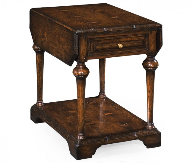 Elizabethan Dark Oak Pembroke Table