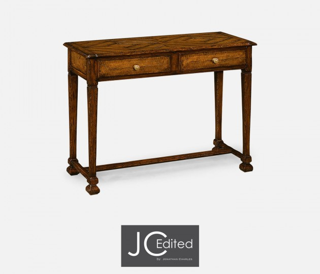 Figured Walnut Small Console