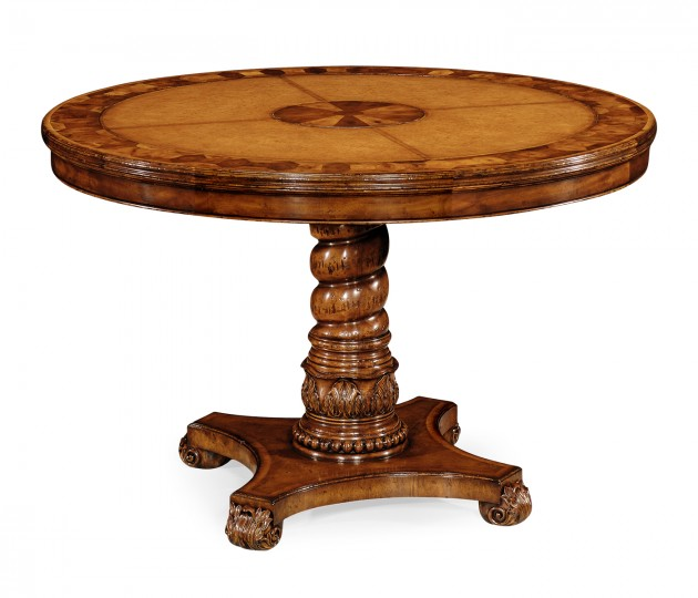 Leather & Oyster Centre Table