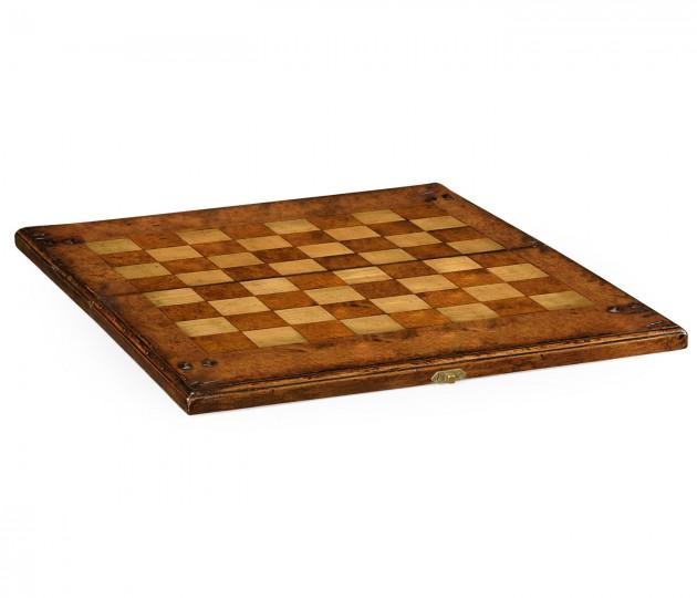 Folding Medium Walnut Games Board