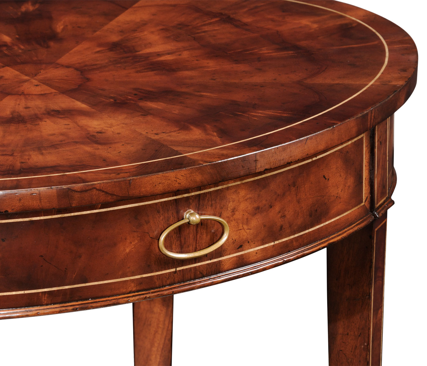 Oval mahogany lamp table geotapseo Gallery