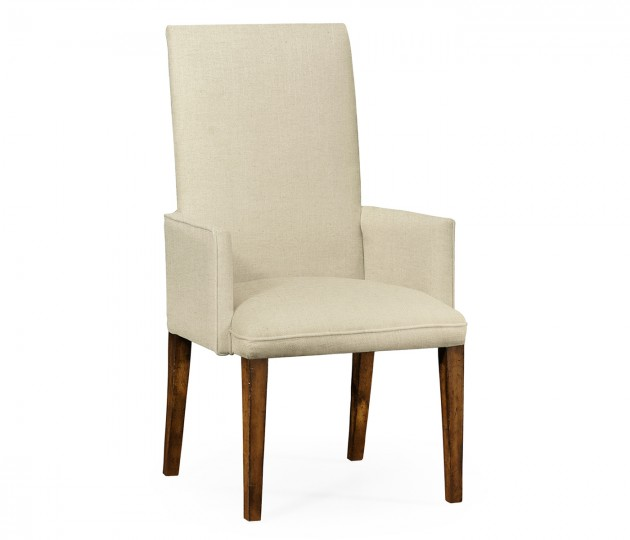 Fully Upholstered Dining Chair (Arm)
