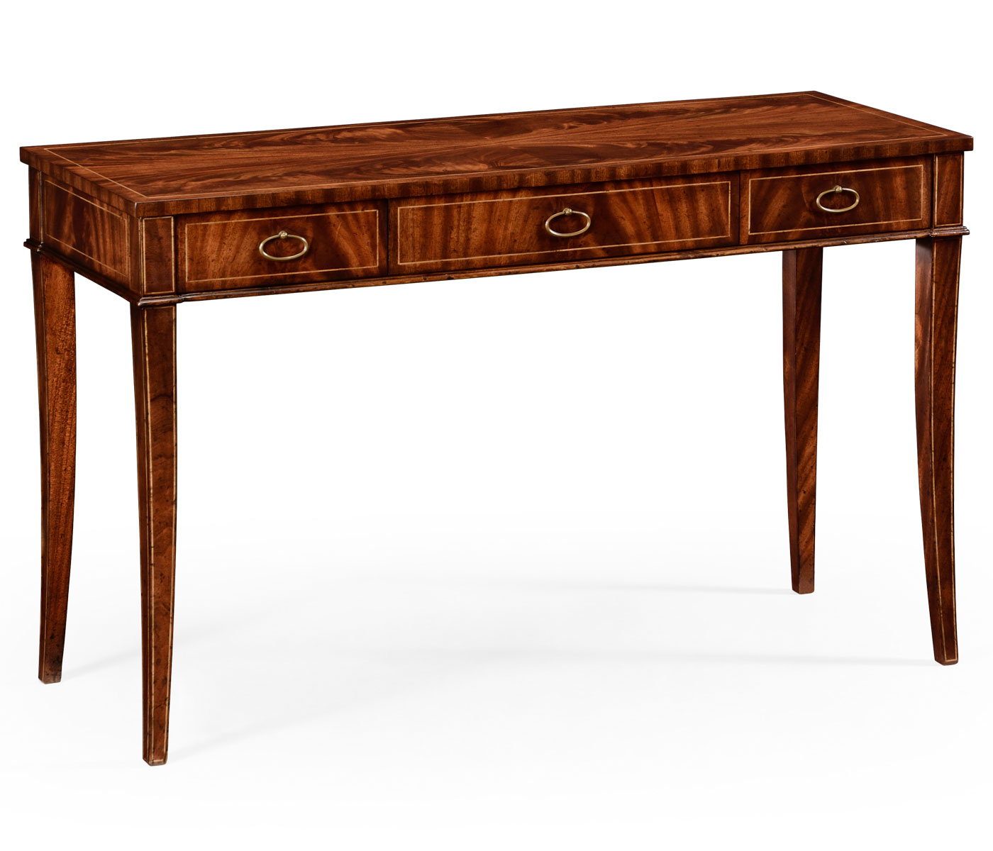 Mahogany Narrow Desk Or Side Table