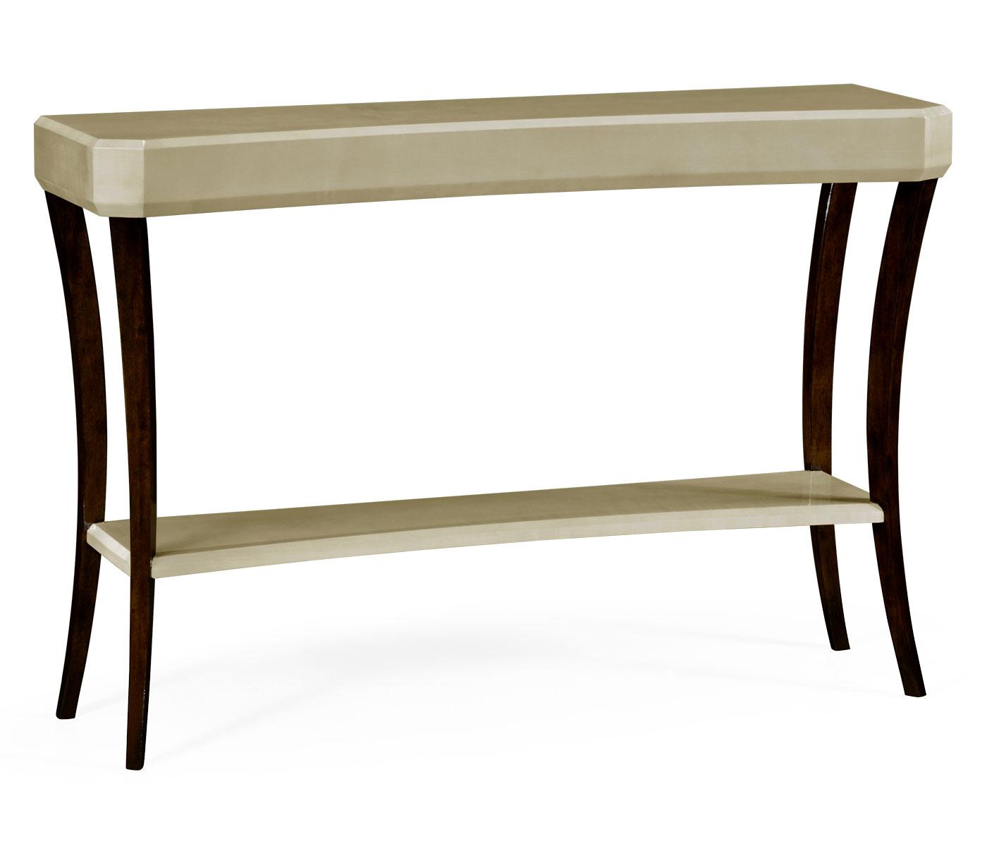 art deco console table. Black Bedroom Furniture Sets. Home Design Ideas