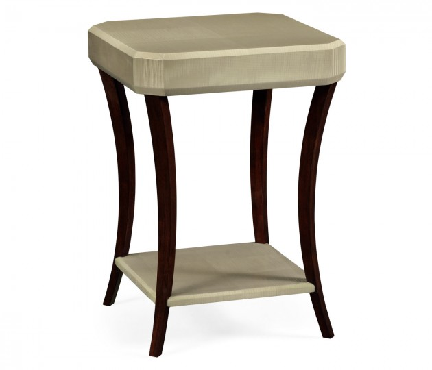 Art Deco Square Side Table