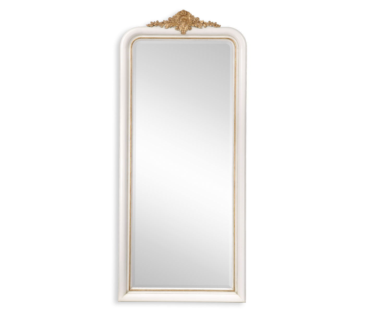 White & Gilded Mirror (Full Length)