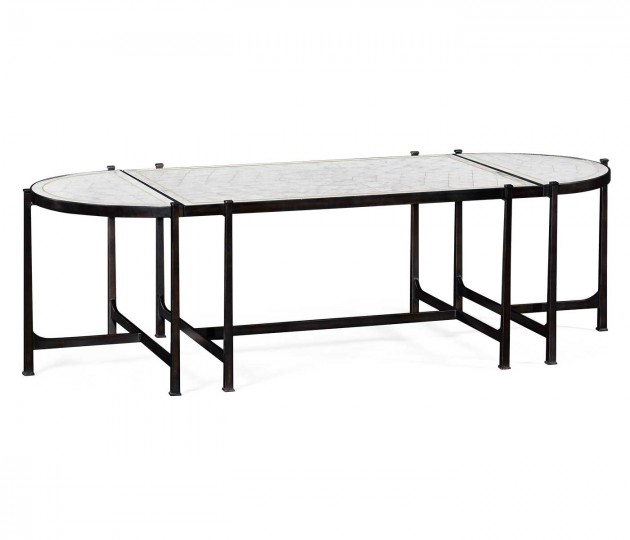 �glomis� & Bronze Iron Bunching Tables