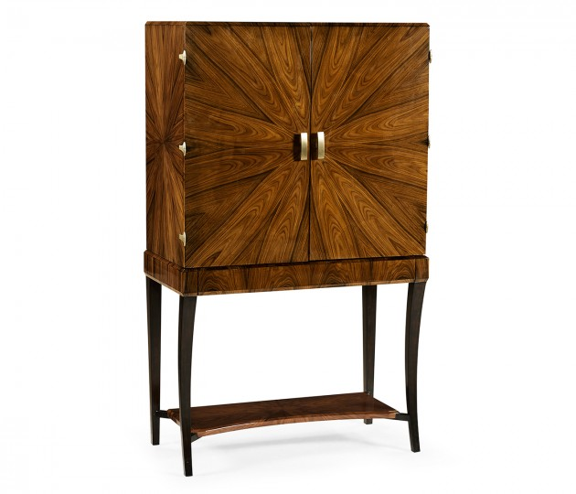 Art Deco High Lustre Drinks Cabinet