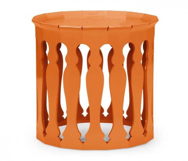 Moorish Sofa Tables (Pumpkin Cream)