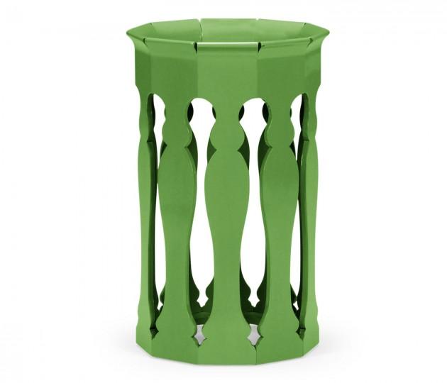 Moorish Lamp Table (Wildwood Green)