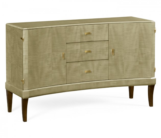 Art Deco Curved Sideboard
