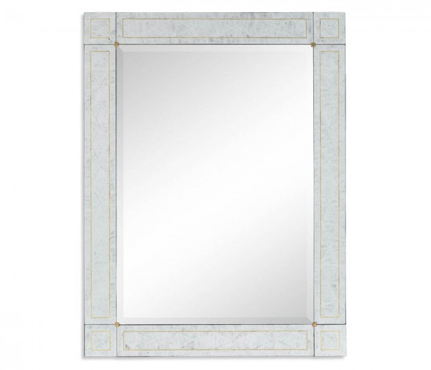 Rectangular Mirror with �glomis� Border