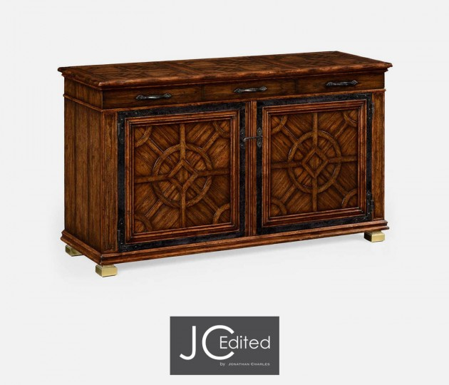 Argentinian Walnut Parquetry Sideboard