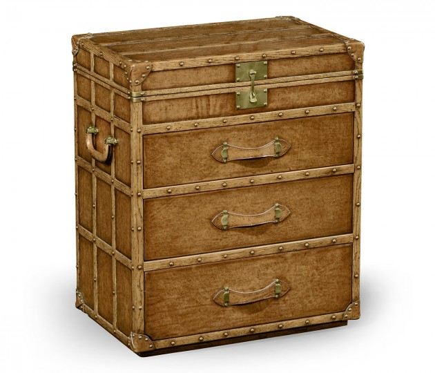 Steamer Chest of Drawer Style Jewellery Box