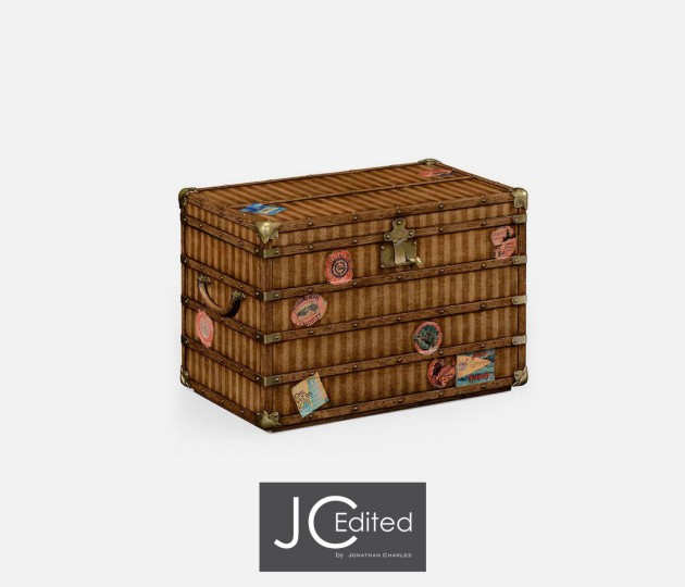 Travel Trunk Style Storage Chest