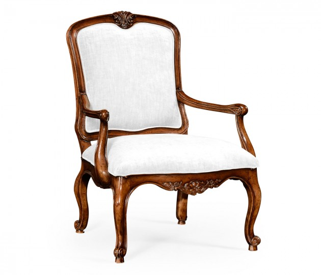 French Walnut Chair with COM