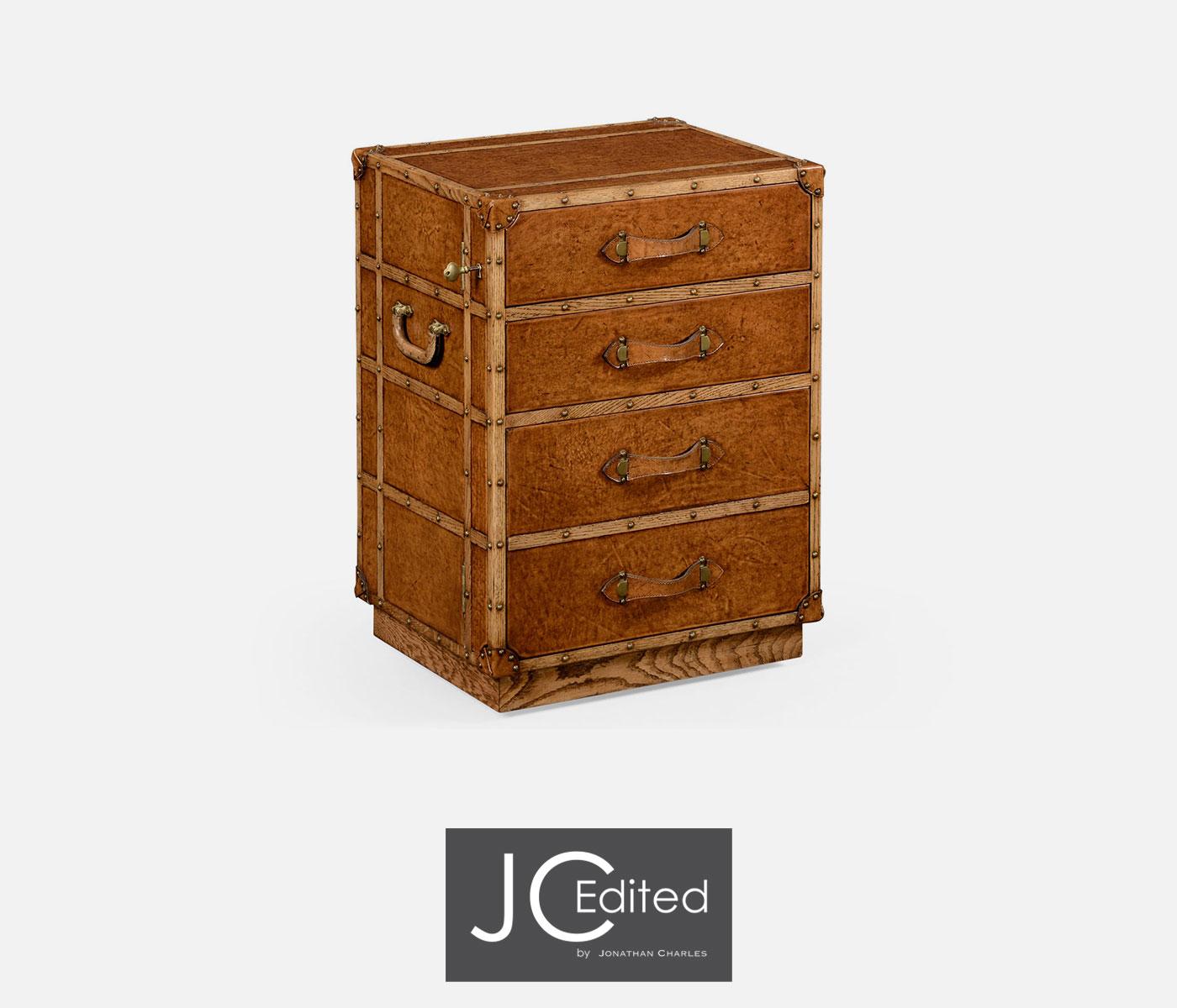 Travel Trunk Style Wellington Filing Cabinet