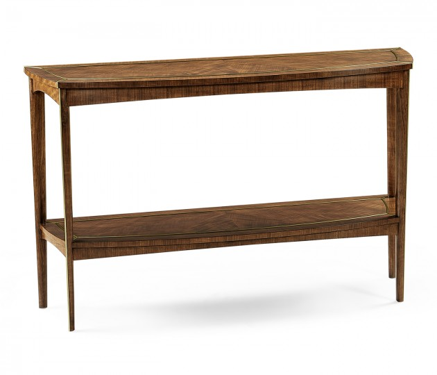 Hyedua and Brass Curved Console