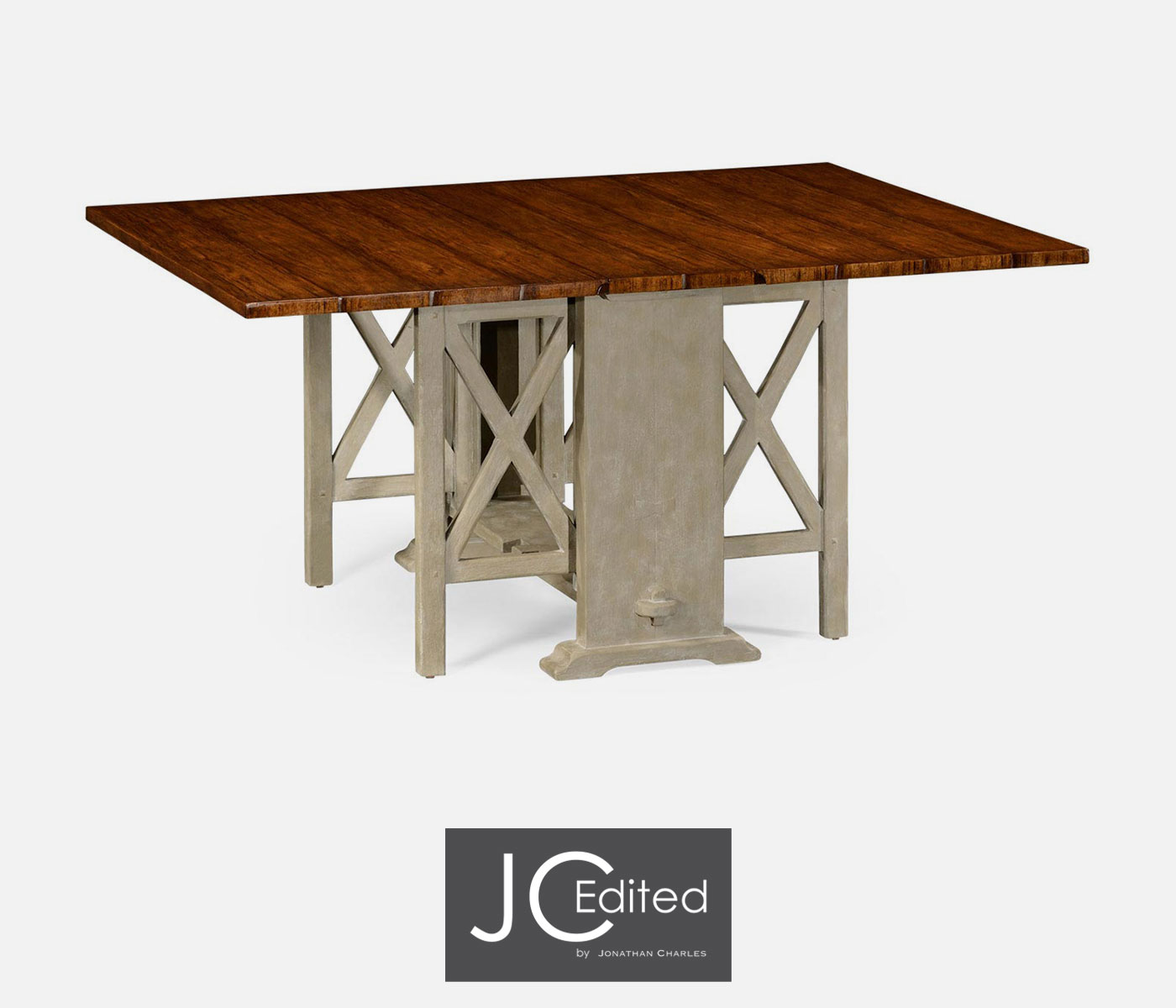 Gustavian style gateleg dining table for Gateleg dining table
