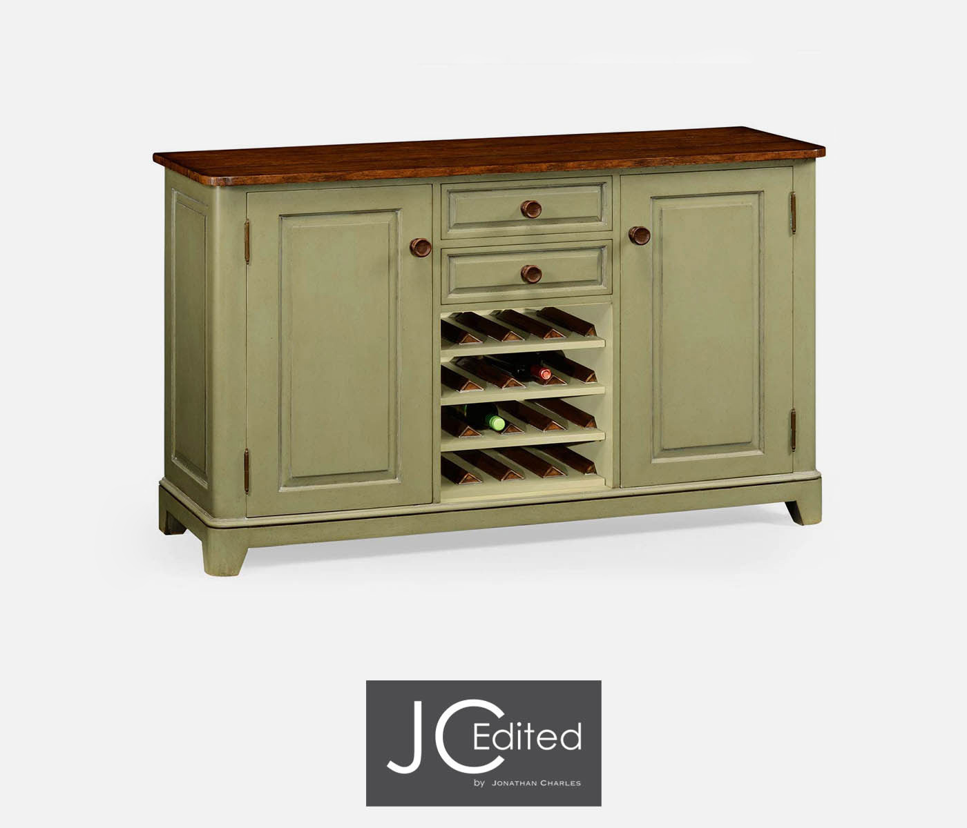 Marvelous photograph of Sideboard With Wine Rack with #633E1D color and 1400x1200 pixels