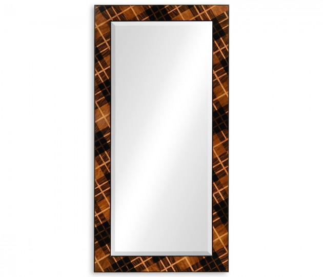 Hand Inlaid Tartan Mirror