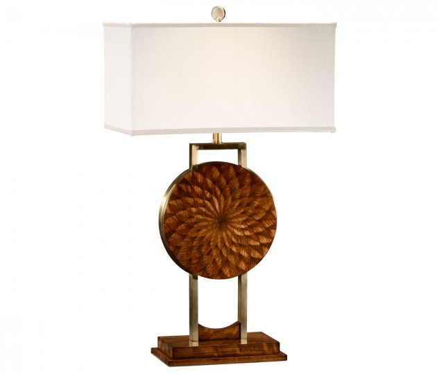 Pangolin Zebrano Table Lamp